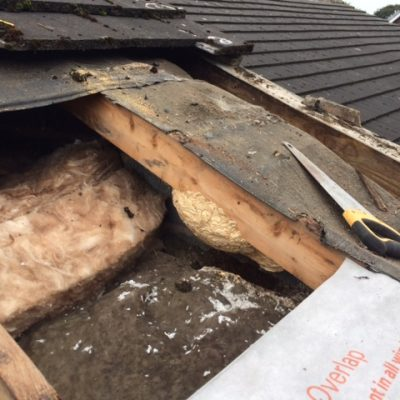 Replace Damaged Roofing Felt Hyde Roofing