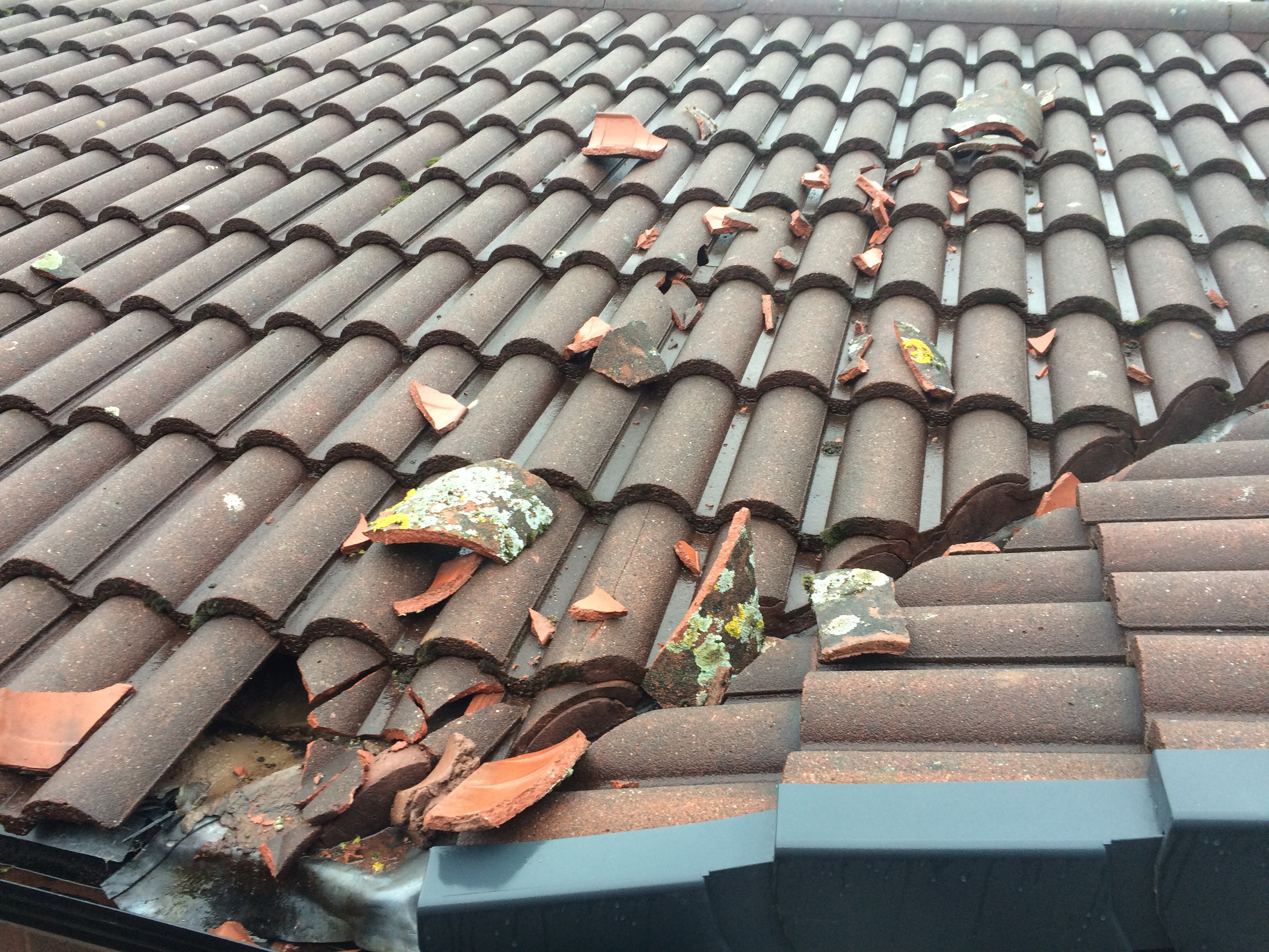 Ridge Tile Repairs After Strong Winds Hit Tameside Hyde
