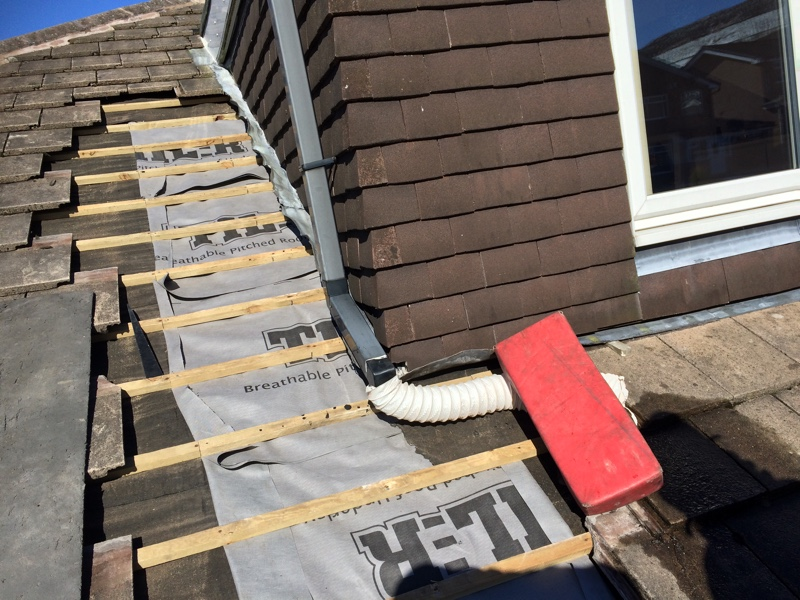 Replace Felt Around Leaking Dormer Hyde Roofing