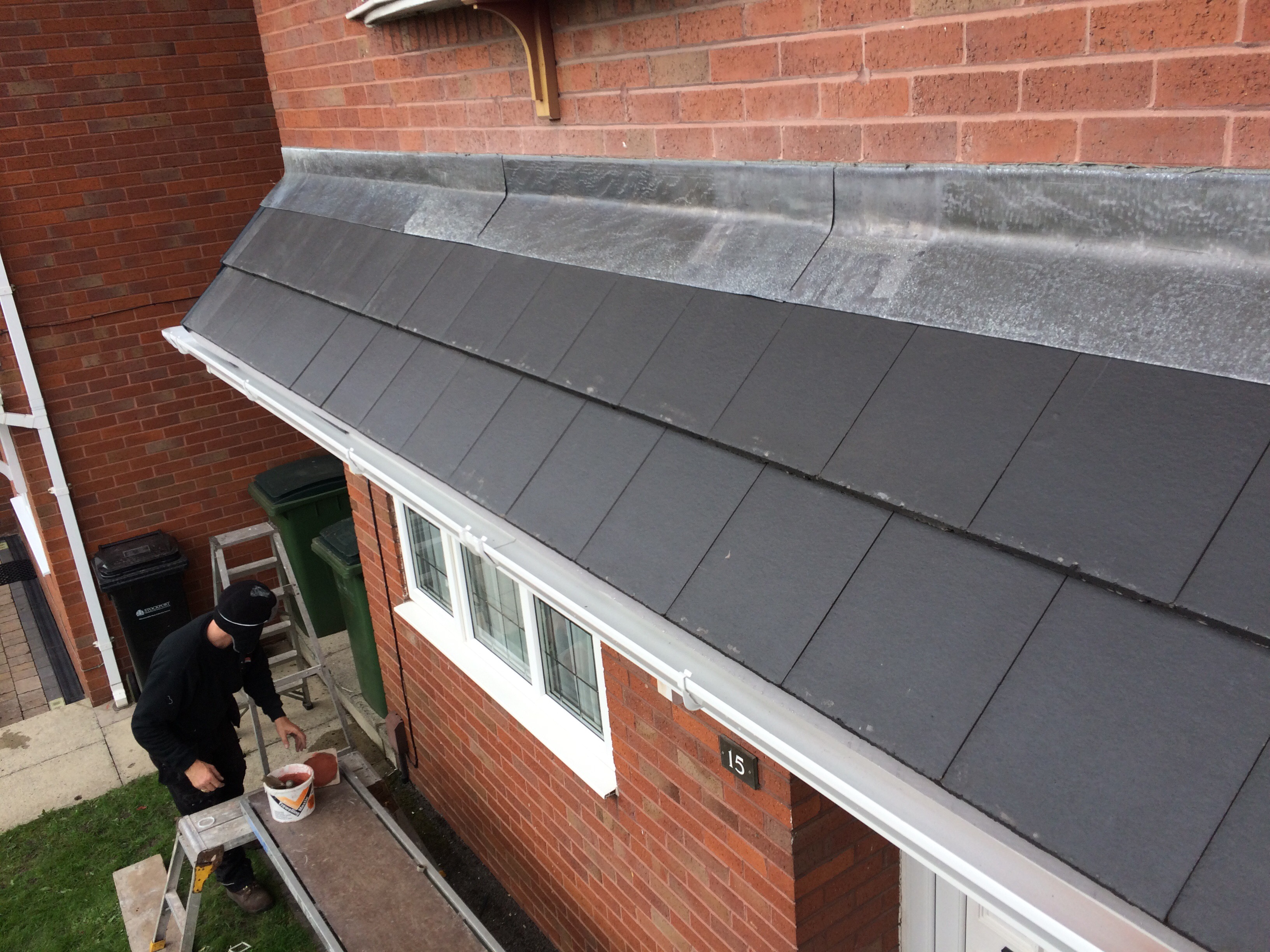 Lead Flashing New And Repairs Hyde Roofing